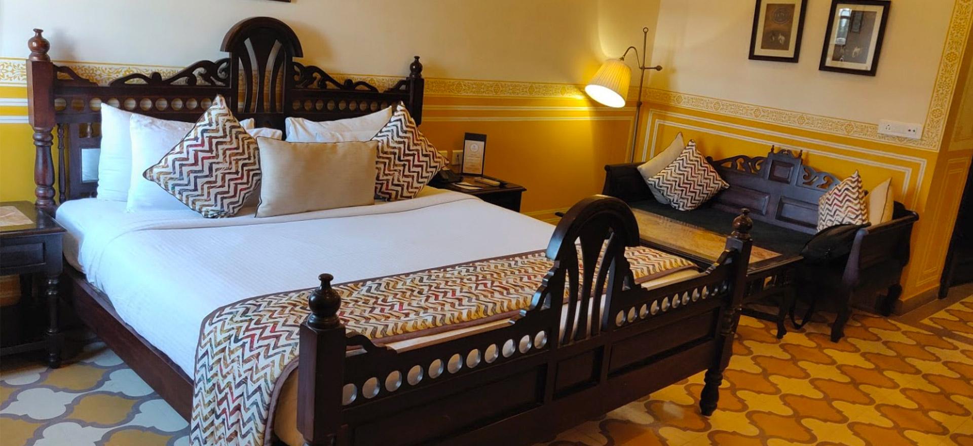 """Voir la page de l'établissement """"Hotel Narain Niwas Palace"""""""