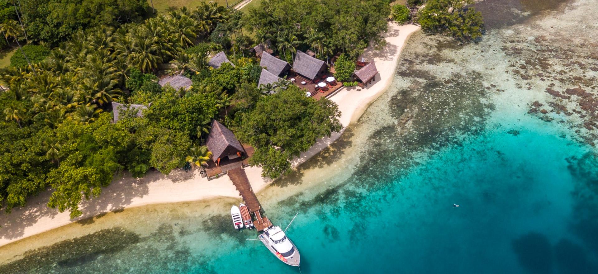 """Voir la page de l'établissement """"Ratua Private Island"""""""
