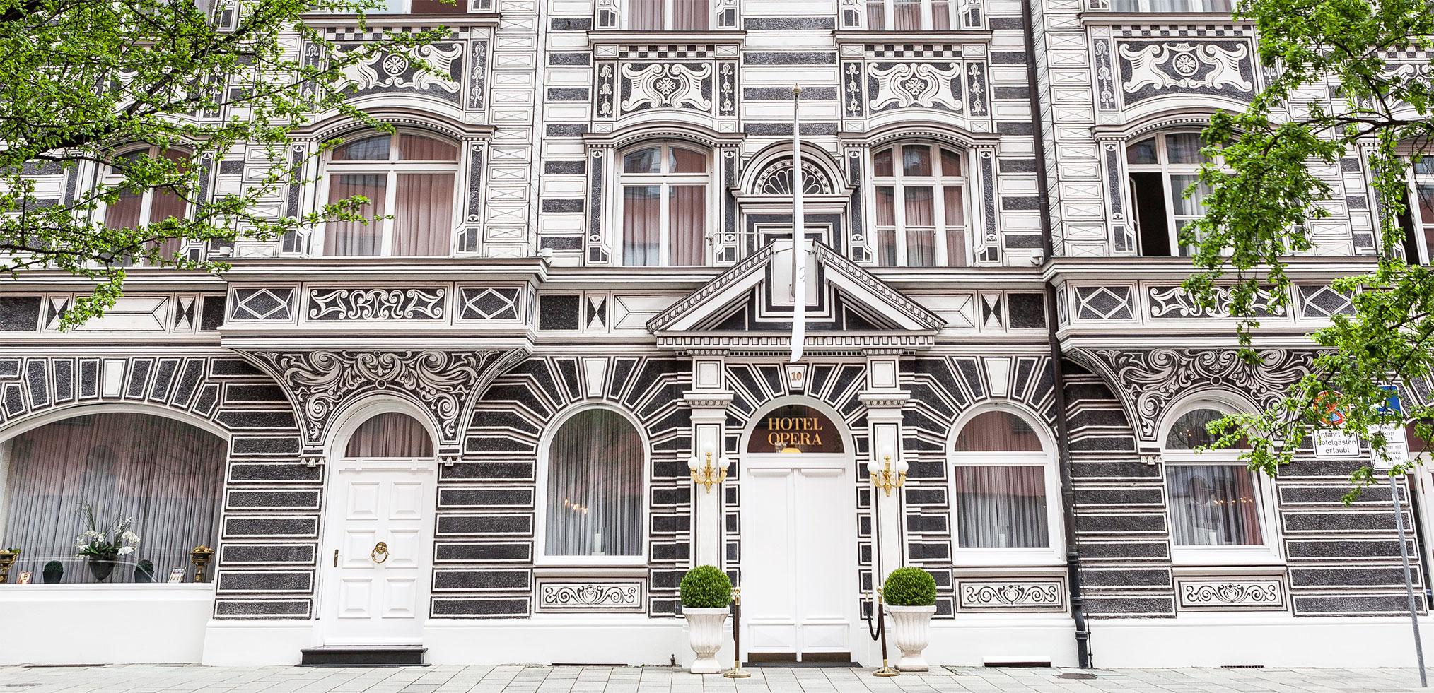"""Voir la page de l'établissement """"Hotel Opera"""""""