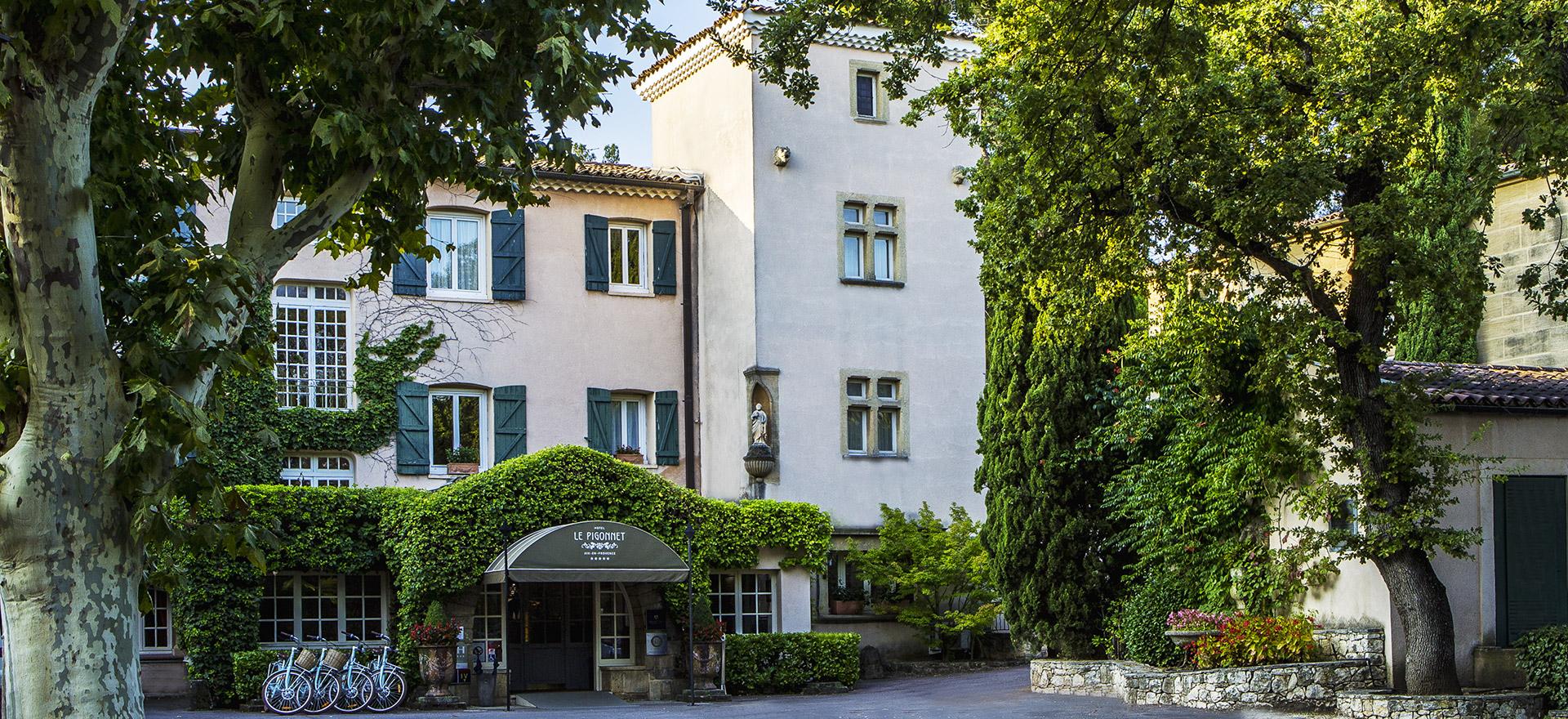 """Voir la page de l'établissement """"Hôtel Le Pigonnet"""""""
