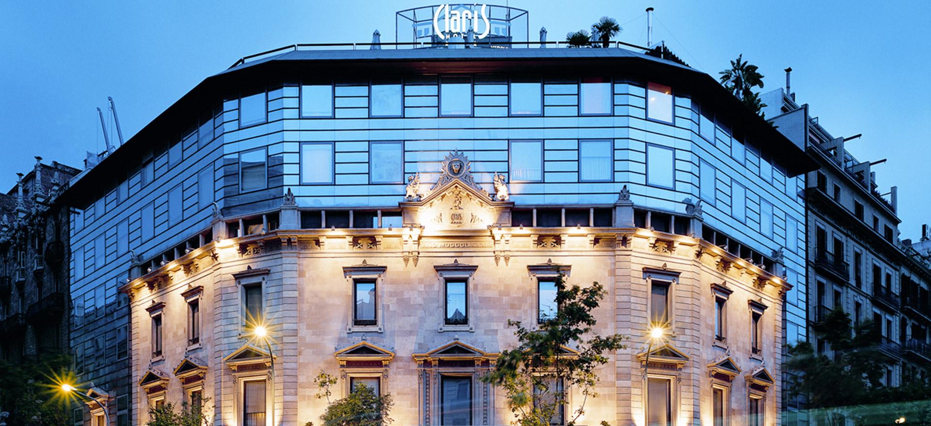 """Voir la page de l'établissement """"CLARIS HOTEL & SPA"""""""