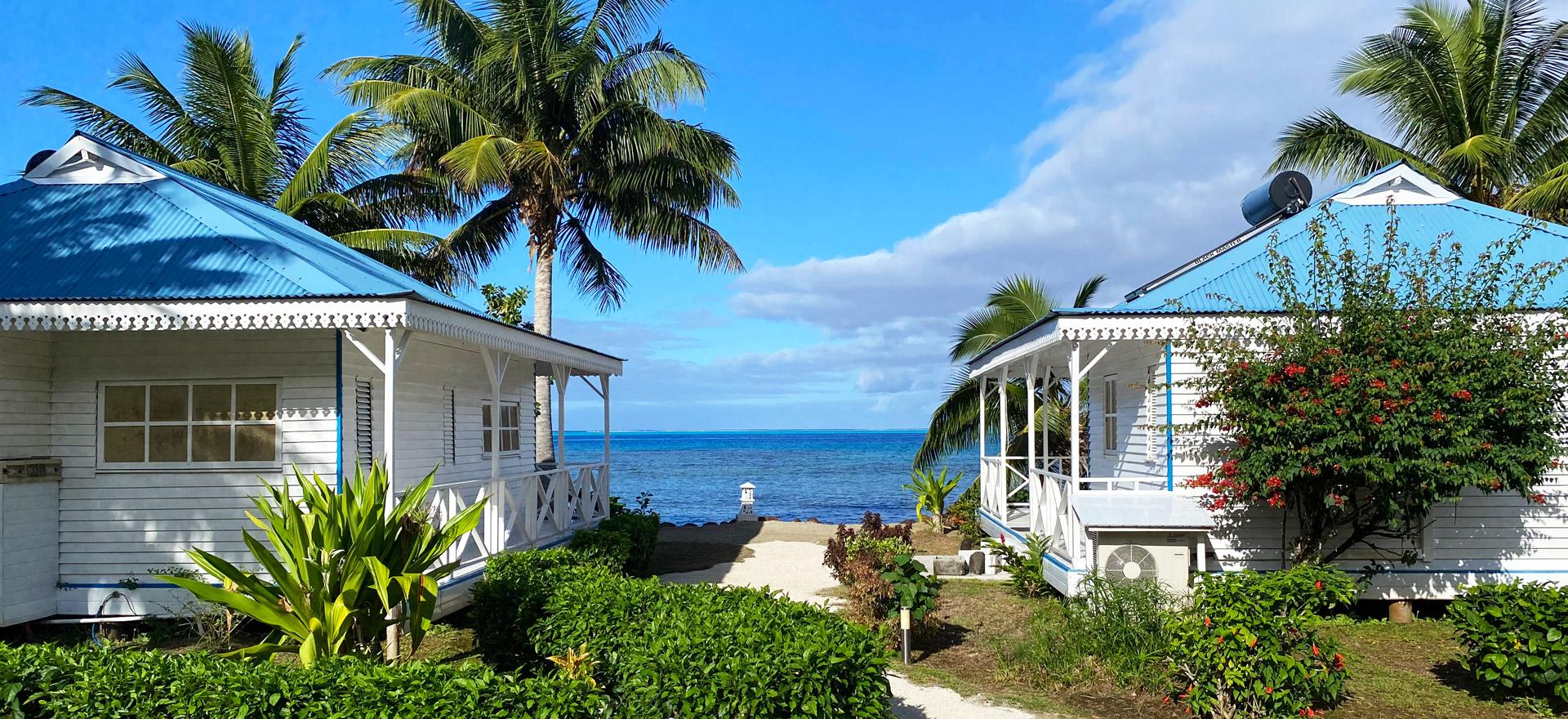"""Voir la page de l'établissement """"Opoa Beach Hotel"""""""
