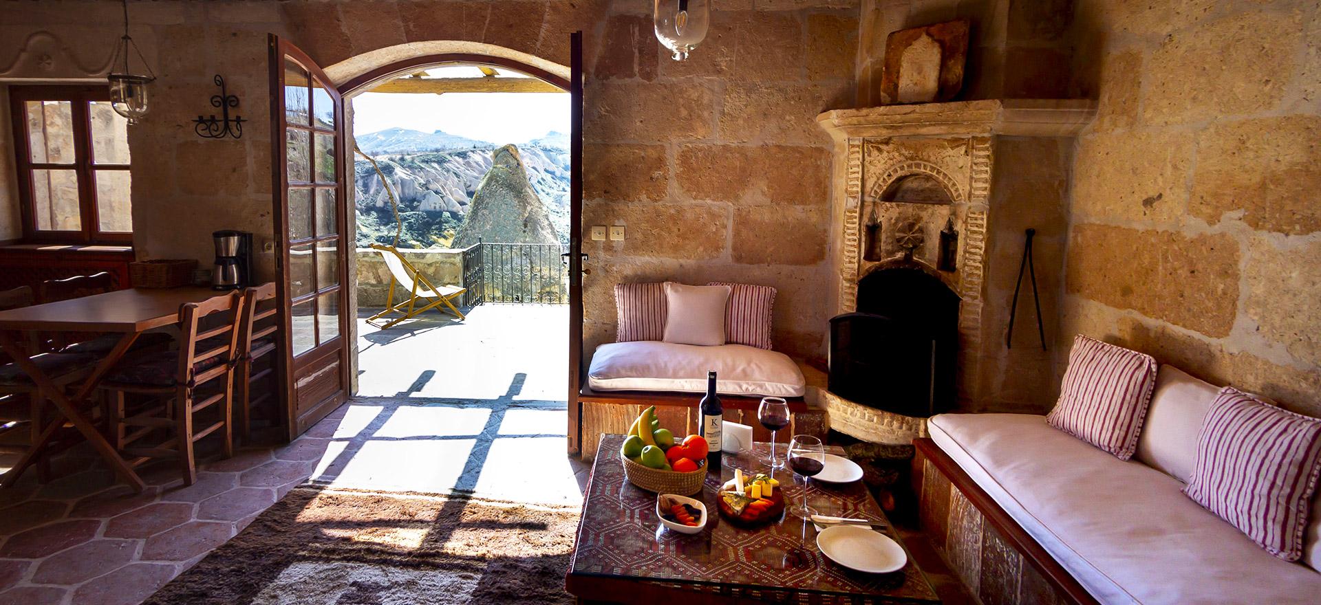 """Voir la page de l'établissement """"Les Maisons de Cappadoce"""""""