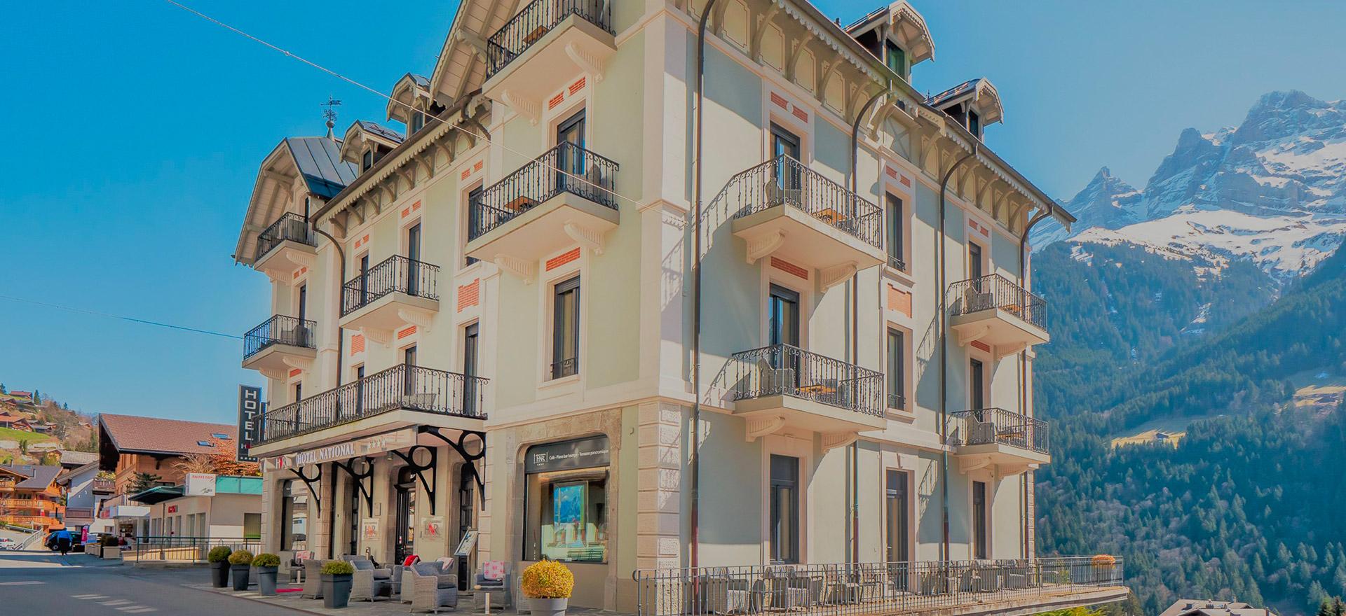 """Voir la page de l'établissement """"Hôtel National Resort & Spa"""""""