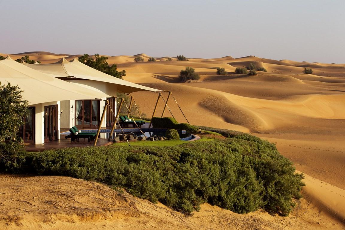 """Voir la page de l'établissement """"Al Maha A Luxury Collection Desert Resort & Spa"""""""